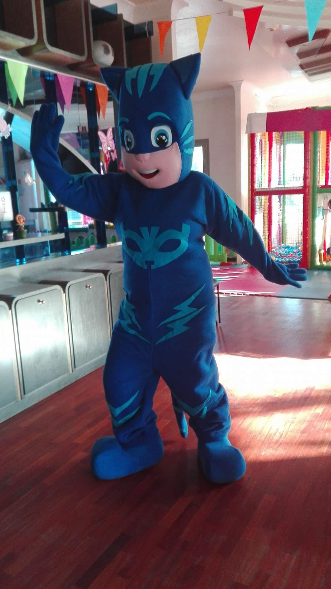 mascotte in costume