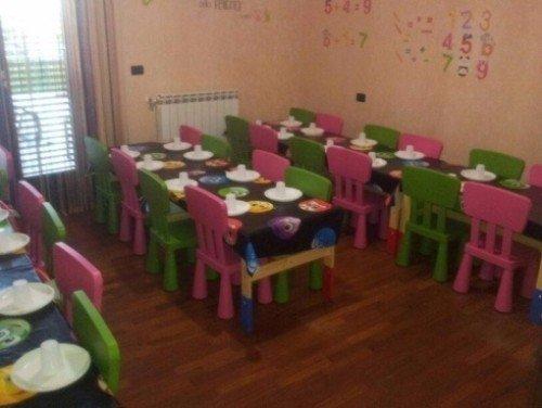 sala per compleanni di bambini