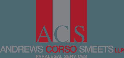 ACS Andrews Corso Smeets Paralegal