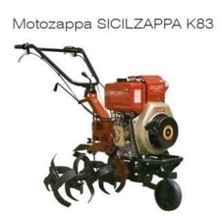 Motozappa Sicilzappa K83 Diesel