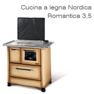 Cucina a legna NORDICA Romantica 3