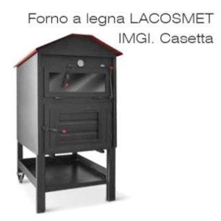 Forno a legna LACOSMET IMGI. Casetta