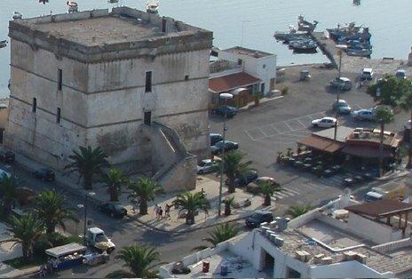 Torre Cesarea dall'alto