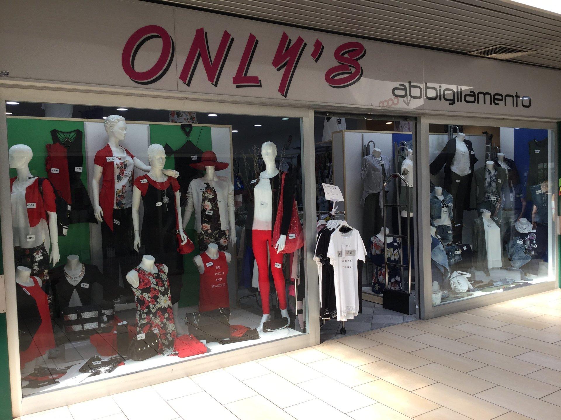 only's abbigliamento