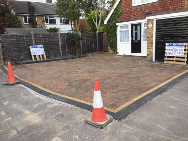 driveway work completed
