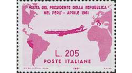 Gronchi rosa, francobollo