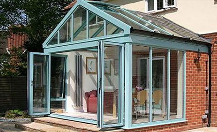 ready-to-install conservatories
