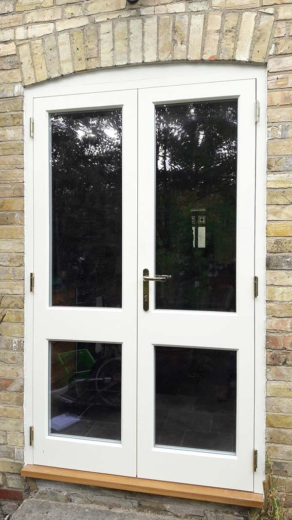 Timber windows of a home