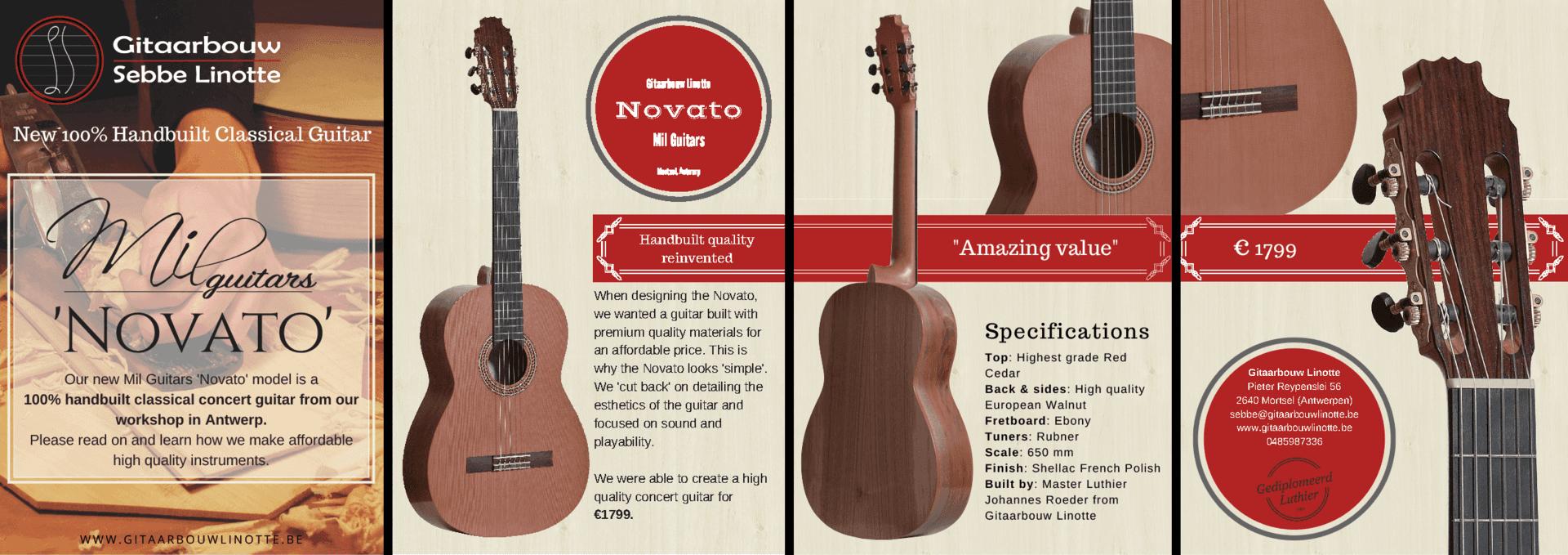 Mil Guitars Novato