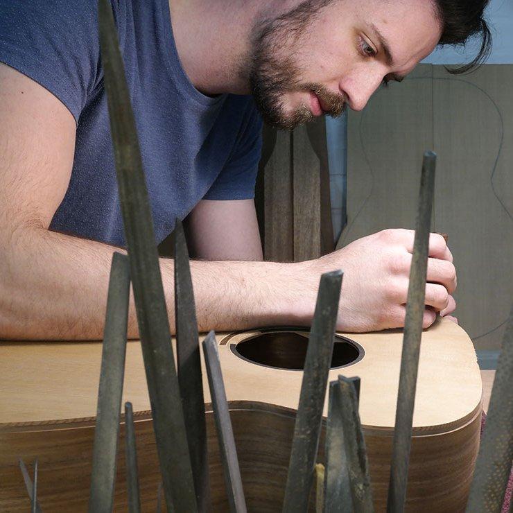 Gitaarbouw Linotte Breedlove gitaren