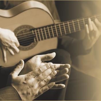 Artesano flamenco gitaar spelen