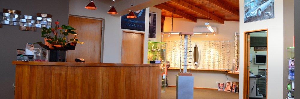 Inside our optometrist in Glenfield