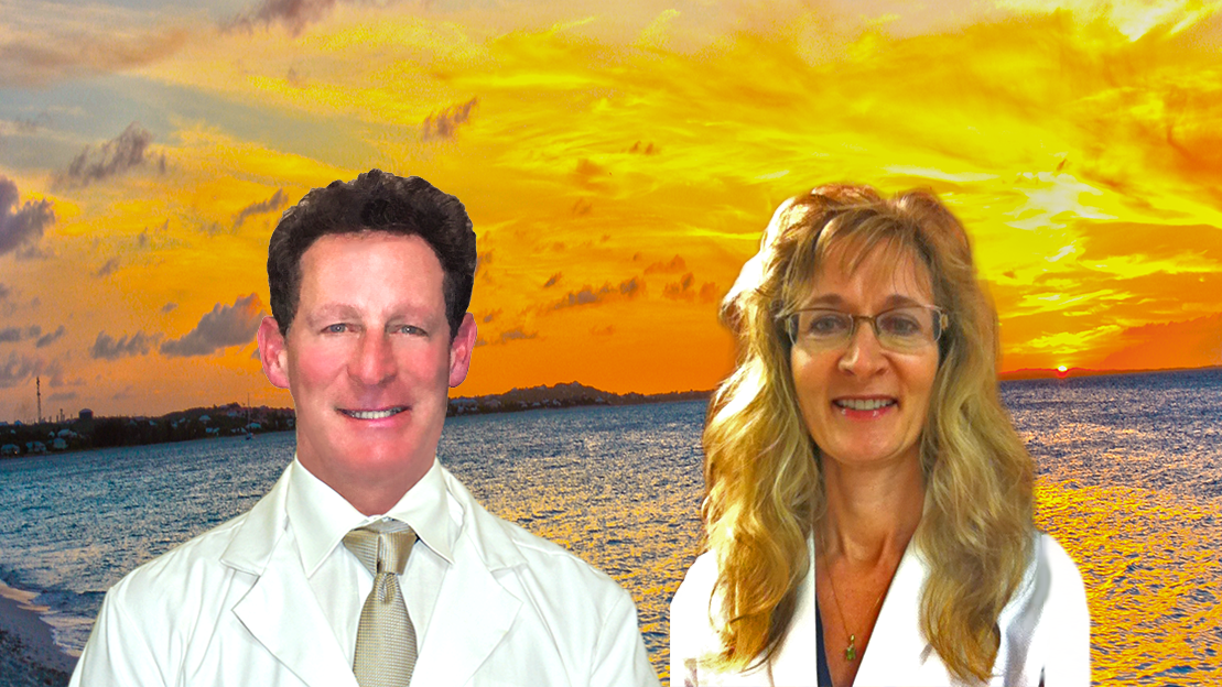 Podiatrist Mark Reed, DPM and Melanie Reed, DPM
