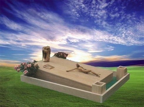 La ditta San Giorgio realizza tombe e monumenti di arte funeraria.