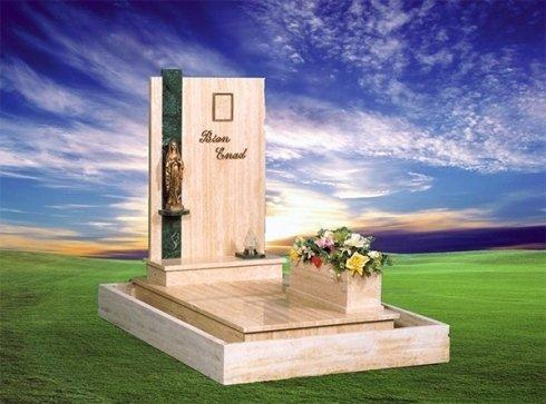 La onoranze funebri San Giorgio cura la realizzazione e la posa di lapidi e monumenti a carattere funerario.