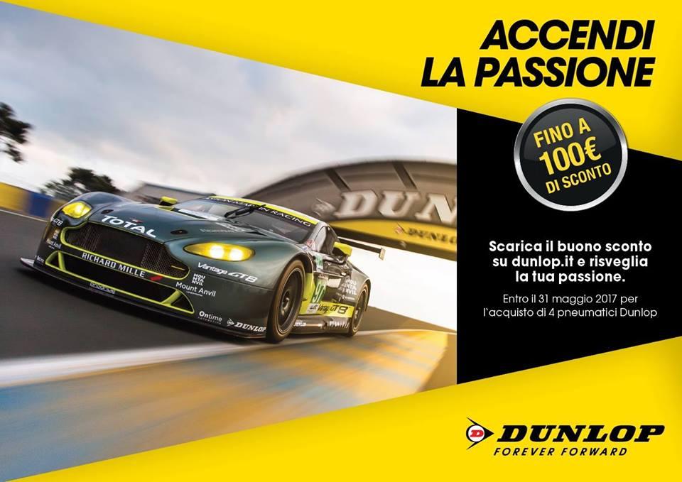 banner sconto Dunlop