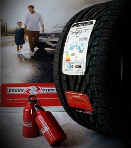 uno pneumatico e pubblicità pneus expert