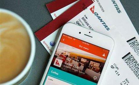 Skip the coffee queue at Qantas