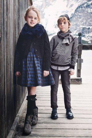collezione abiti per bambini e bambine sarabanda a bergamo autunno inverno 2017 2018