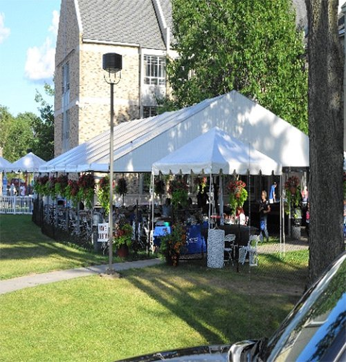 Tents by LT rentals in Webster, NY
