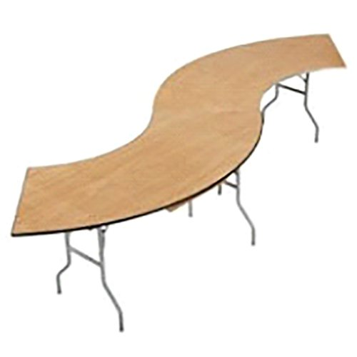 Curved table in Webster, NY