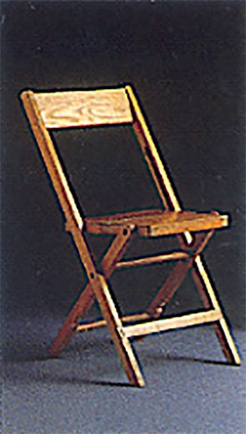 Folding wood chair in Webster, NY