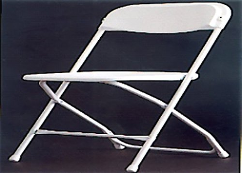 White frame chair  in Webster, NY