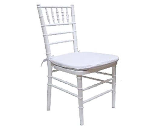 White chair with cushion in Webster, NY