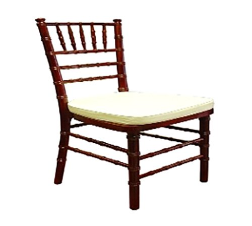Mahogany chair with cushion in Webster, NY