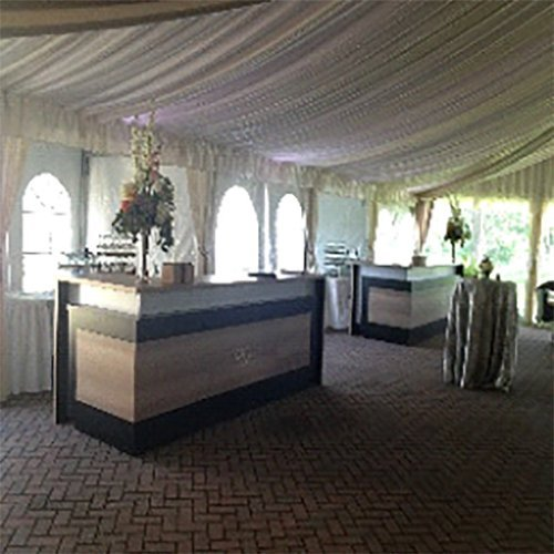 Portable bar Event organised  by LT rentals in Webster, NY