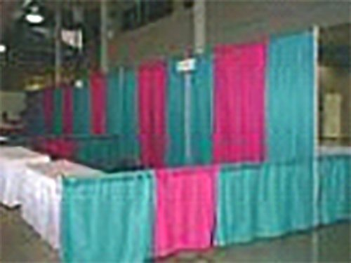 Range of pipe and drape available with LT rentals in Webster, NY