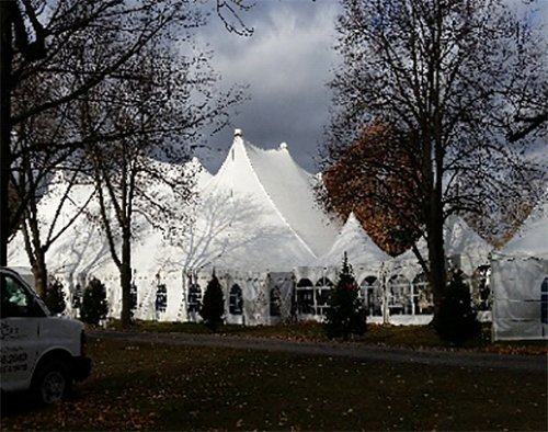 High peak frame tents in Webster, NY