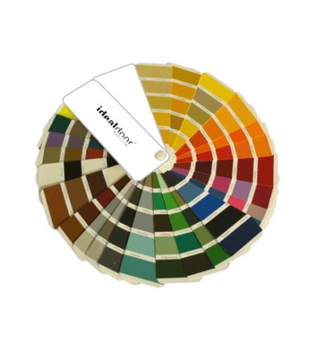 una palette di colori per le porte