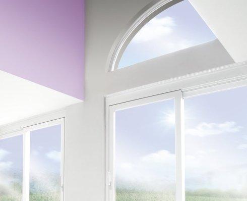 delle finestre in vetro