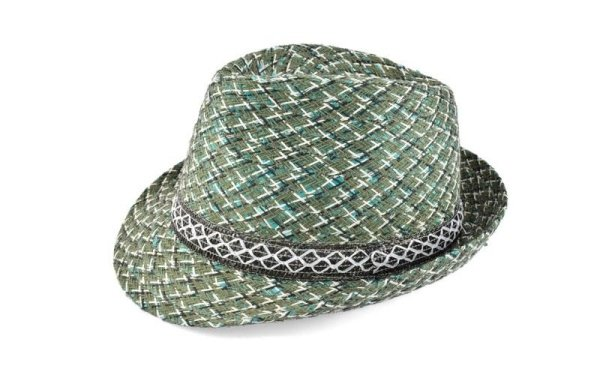 decorated hat man