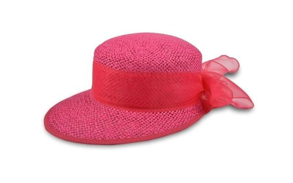 pink hat girl