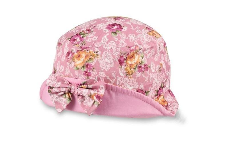Mädchen-Hut mit Blumendesign