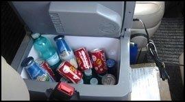 minivan con frigobar