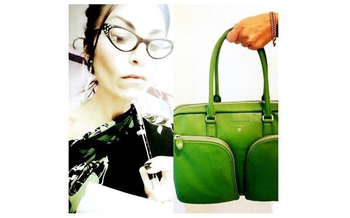 Borsa donna Spalding & Bros. Green