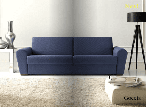 Divano letto rete elettrosaldata materasso ad alta densità