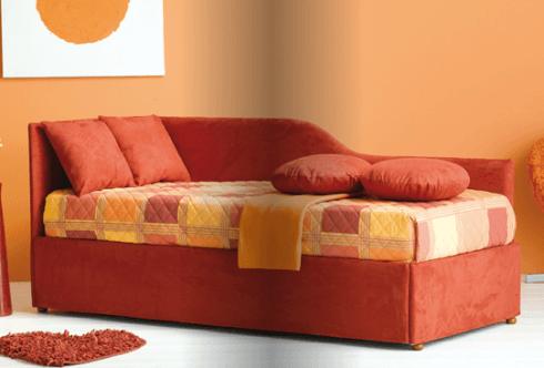 Divano letto con secondo letto estraibile