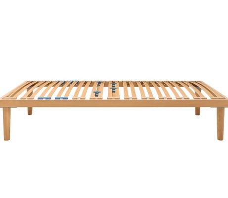 reti per letto con doghe in legno