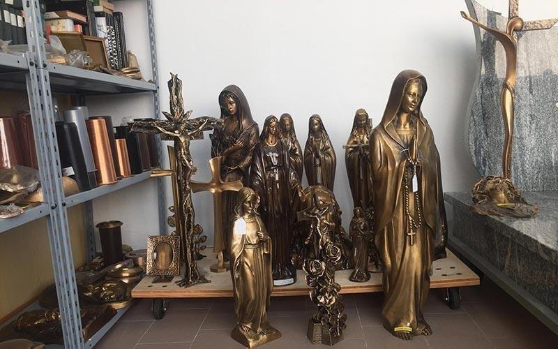 statue per cimitero