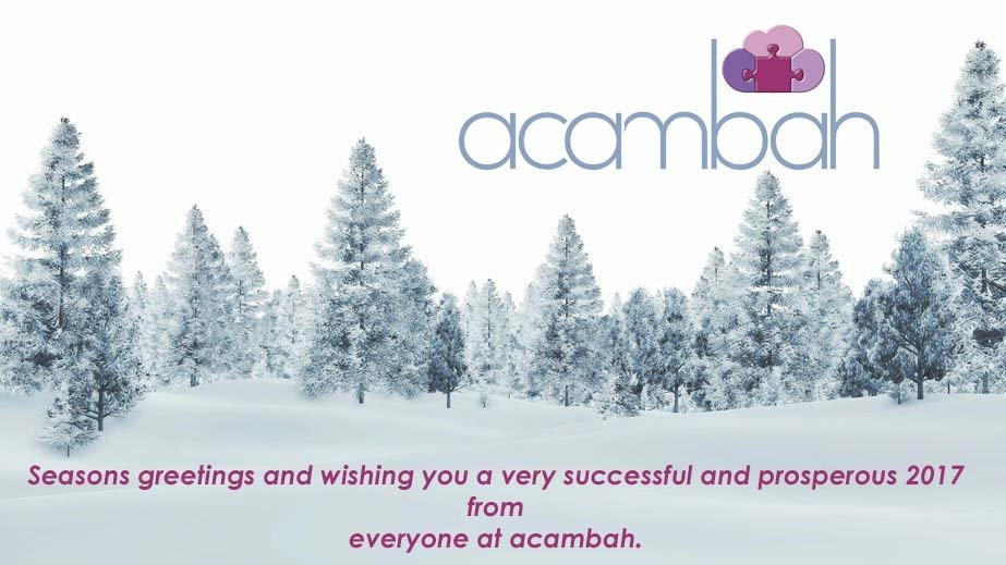 Seasons Greetings to You from acambah