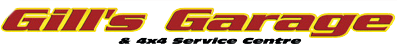 Gill's Garage Currrumbin Header Logo