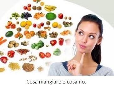 Cosa mangiare e cosa no