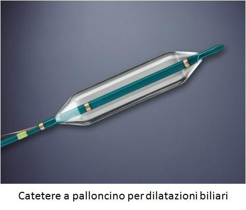 Catetere a palloncino per dilatazioni biliari