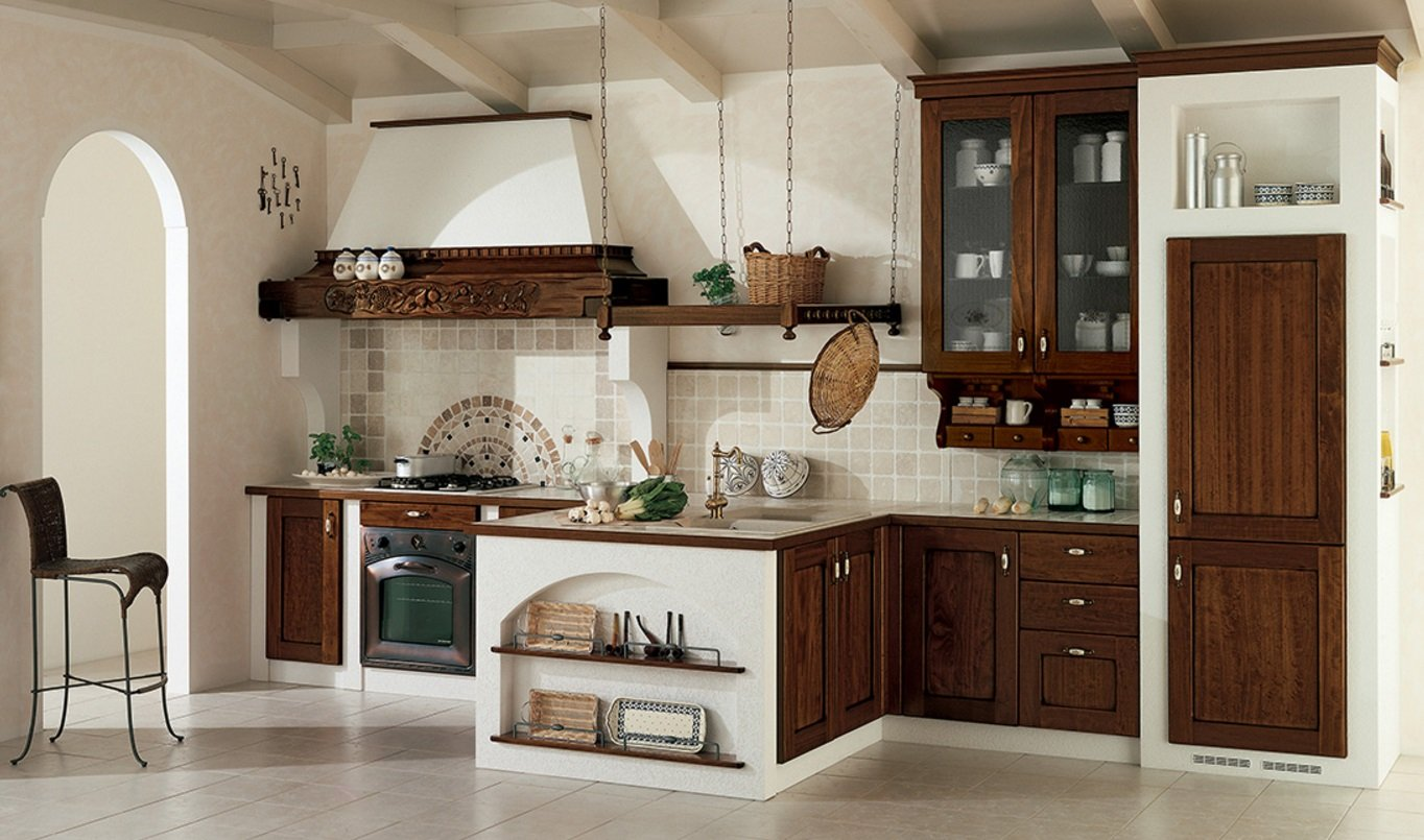 cucina classica made in italy