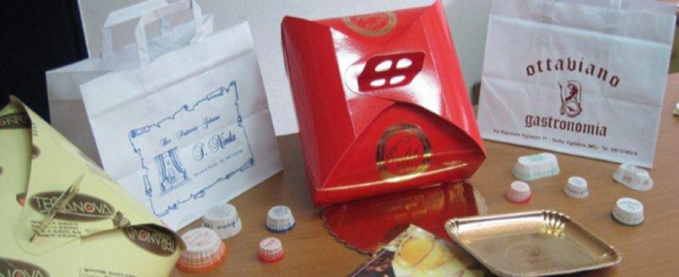 cartotecnica, arti grafiche - buste - sacchetti -etichette