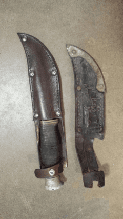 foderatura coltelli